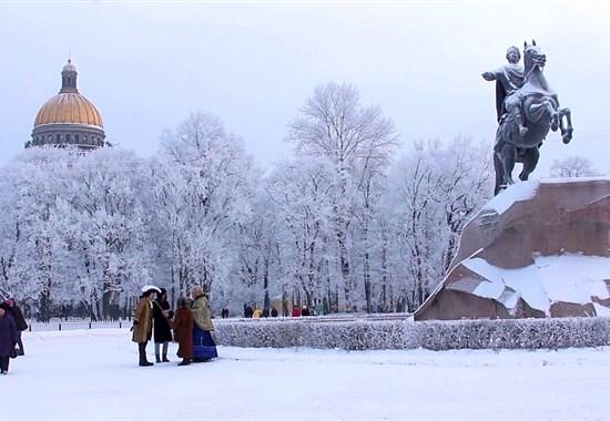 ZIMNÍ PETROHRAD - Rusko