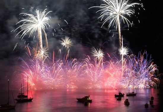 MADEIRA - ATLANTICKÝ FESTIVAL OHŇOSTROJŮ - Madeira