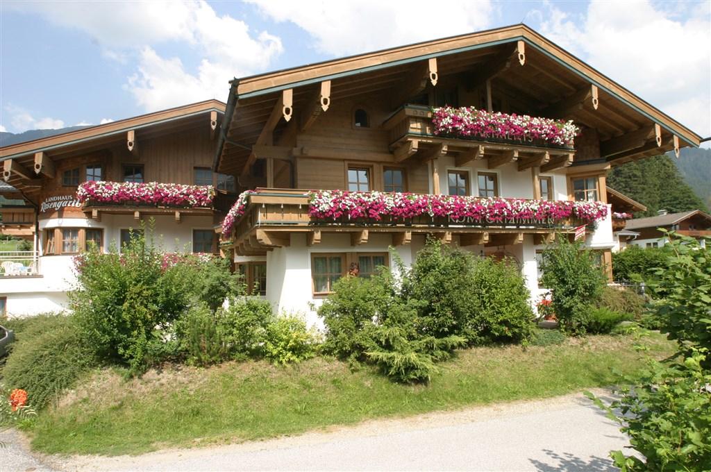 APARTMÁNY ROSENGARTL - LÉTO - Rakousko